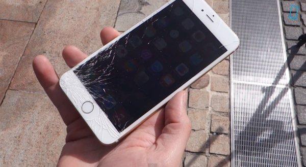 У меня сломался смартфон, от…