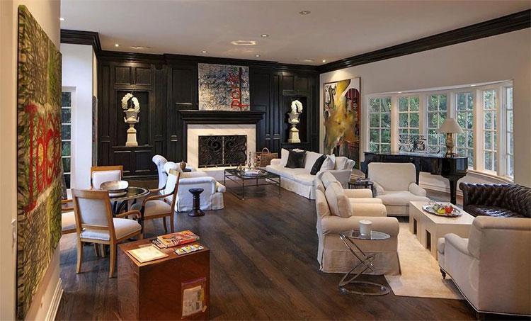 В гостях у Риз Уизерспун: экскурсия по особняку в английском стиле за 16 миллионов долларов Стиль жизни,Дома звезд