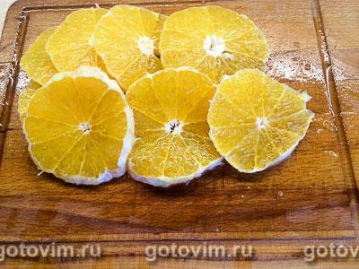 Творожно-йогуртовый торт с апельсинами без выпечки, Шаг 06