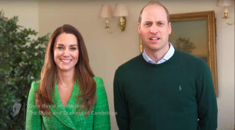 Кейт Миддлтон и принц Уильям поздравили ирландцев с Днем святого Патрика Монархи,Британские монархи