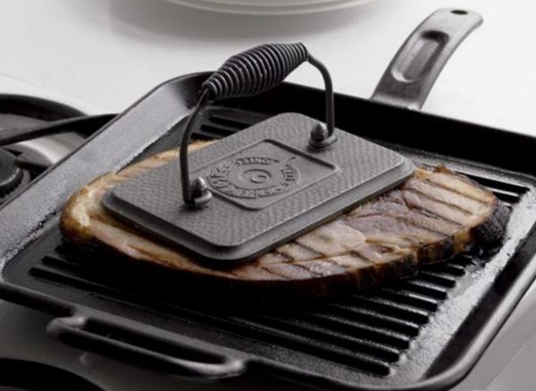 5 причин добавить в кухонный арсенал пресс для гриля