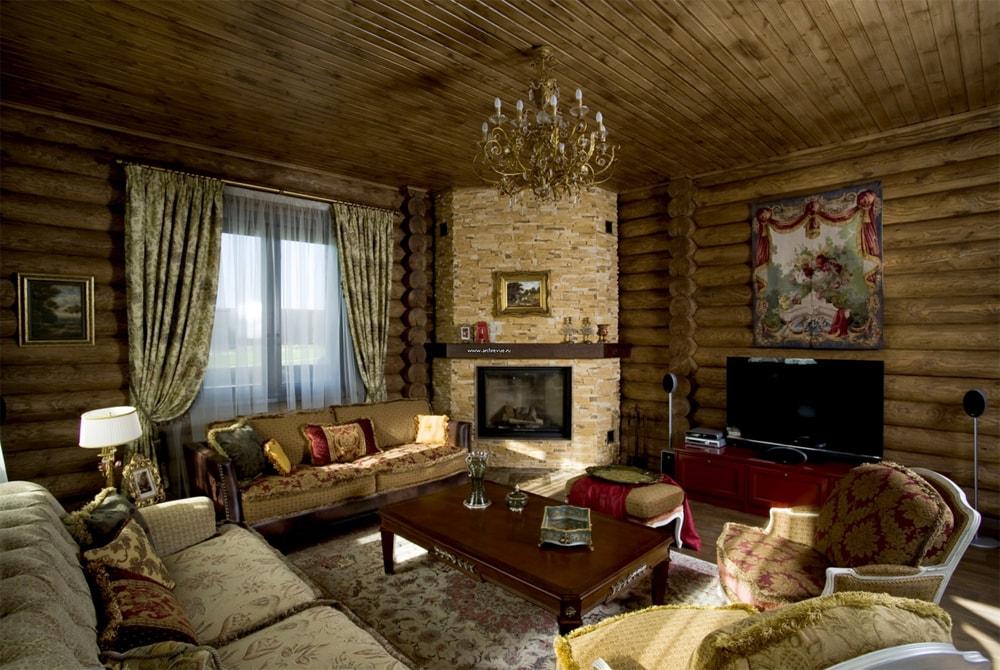новый как сделать уютный зал в деревне фото давние