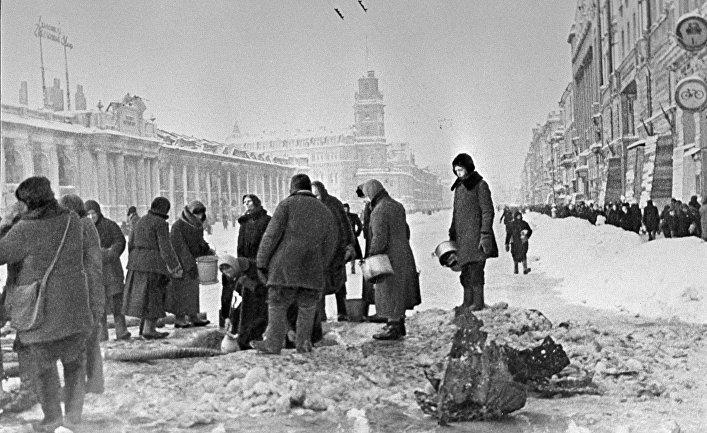 Ленинградская блокада глазами немцев