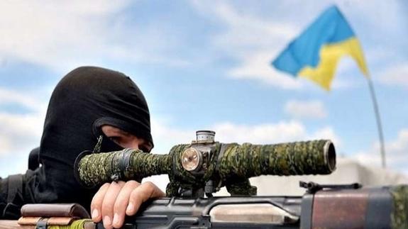 На Донбассе гибнут украински…