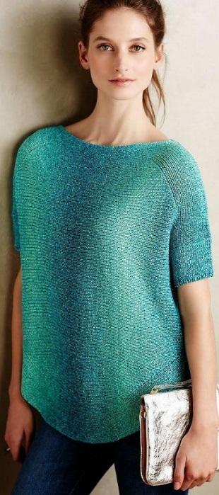 Пуловеры спицами. Подборка.