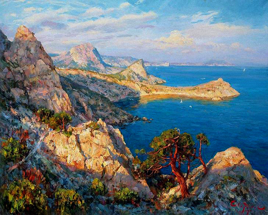 Крым картины фотобанк