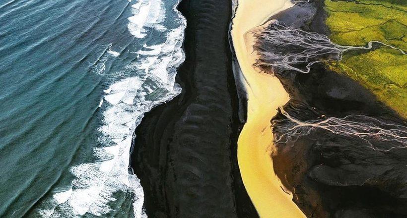 Редкие потрясающие аэрофотографии пейзажей оттаявшего исландского нагорья