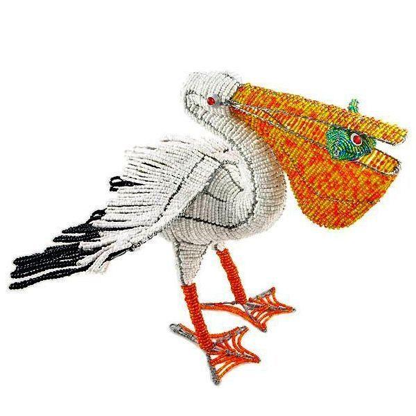 Плетём животных из бисера