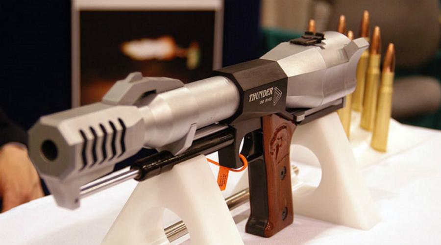 Самые мощные пистолеты мира: пробивают не хуже винтовки