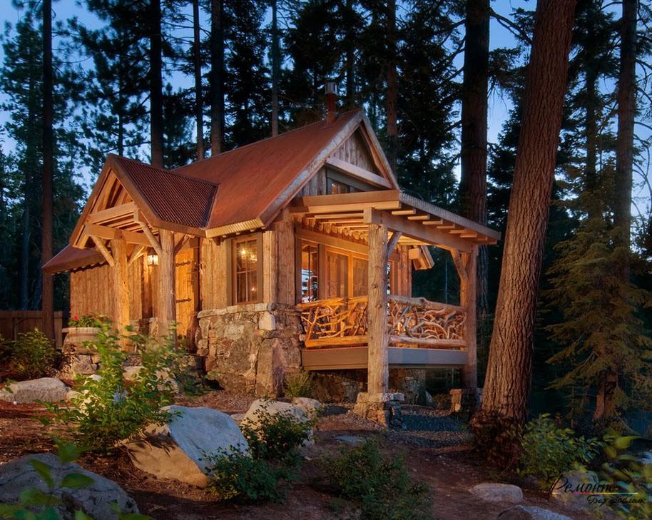 термобелье красивый дачный домик фото работы зимнего