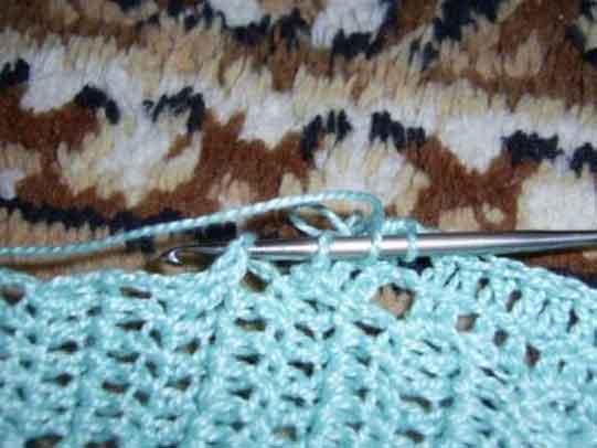 Мастер-класс. Вязание рукава от проймы крючком вязание