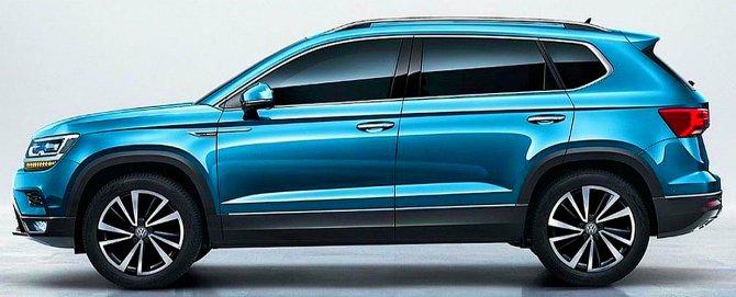 «ГАЗ» будет собирать бюджетный кроссовер Volkswagen Tarek Volkswagen Tarek