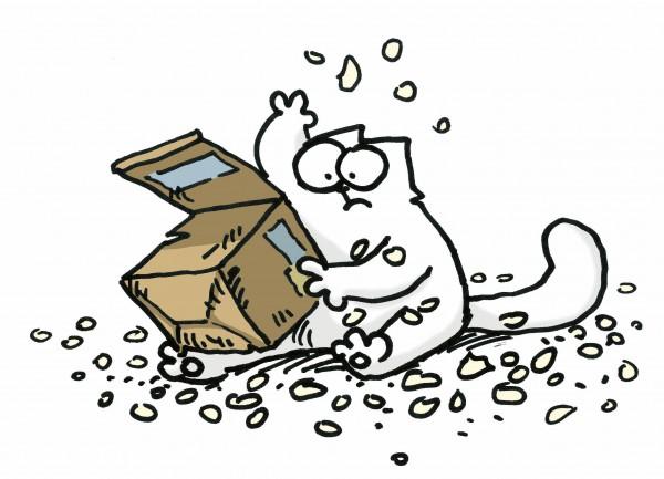 """НАШ МУЛЬТЗАЛ. Забавный мультфильм """"Simon's Cat"""""""