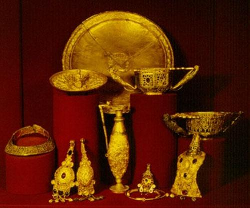 Удивительные клады древности