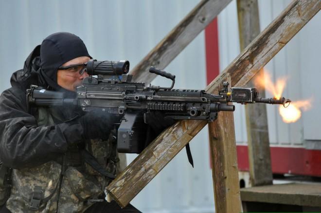 Новый тип винтовок будет пробивать любой бронежилет