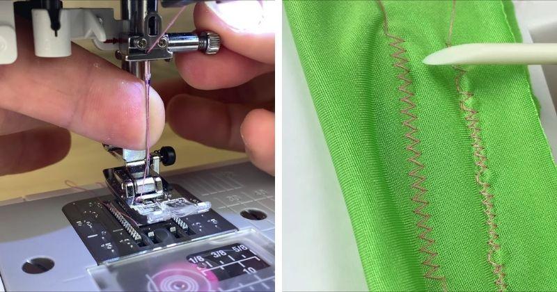 3 важных лайфхака, как шить трикотаж без пропусков на швейной машине