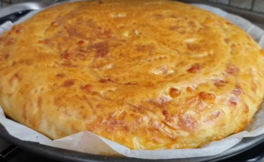 Лепешка с сыром - вкуснейшая выпечка
