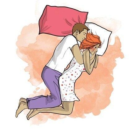 Картинки по запросу поза сна Медовый месяц