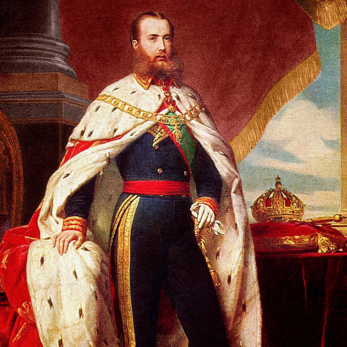 Официальный портрет императора Максимилиана