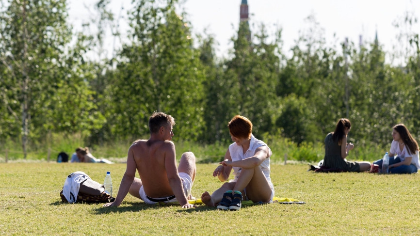 Потепление до 32 градусов ждет москвичей в пятницу Общество