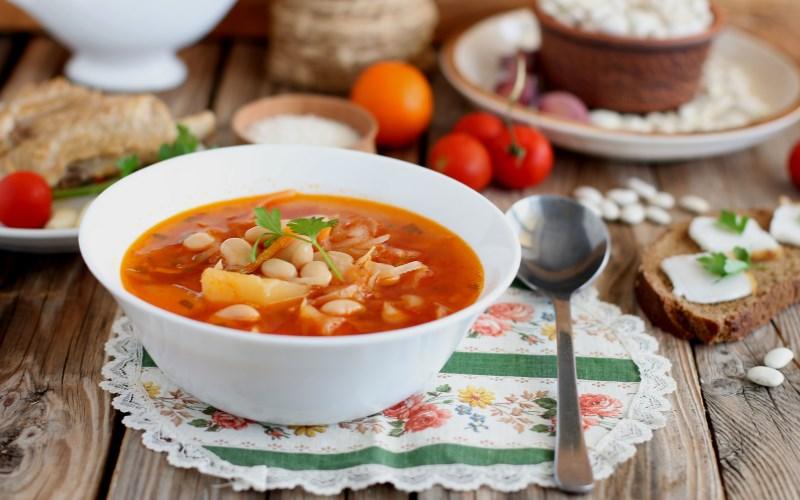 Борщ с фасолью — 6 рецептов, как приготовить борщ, чтобы получилось очень вкусно, бесподобно еда,пища,рецепты, борщ с фасолью