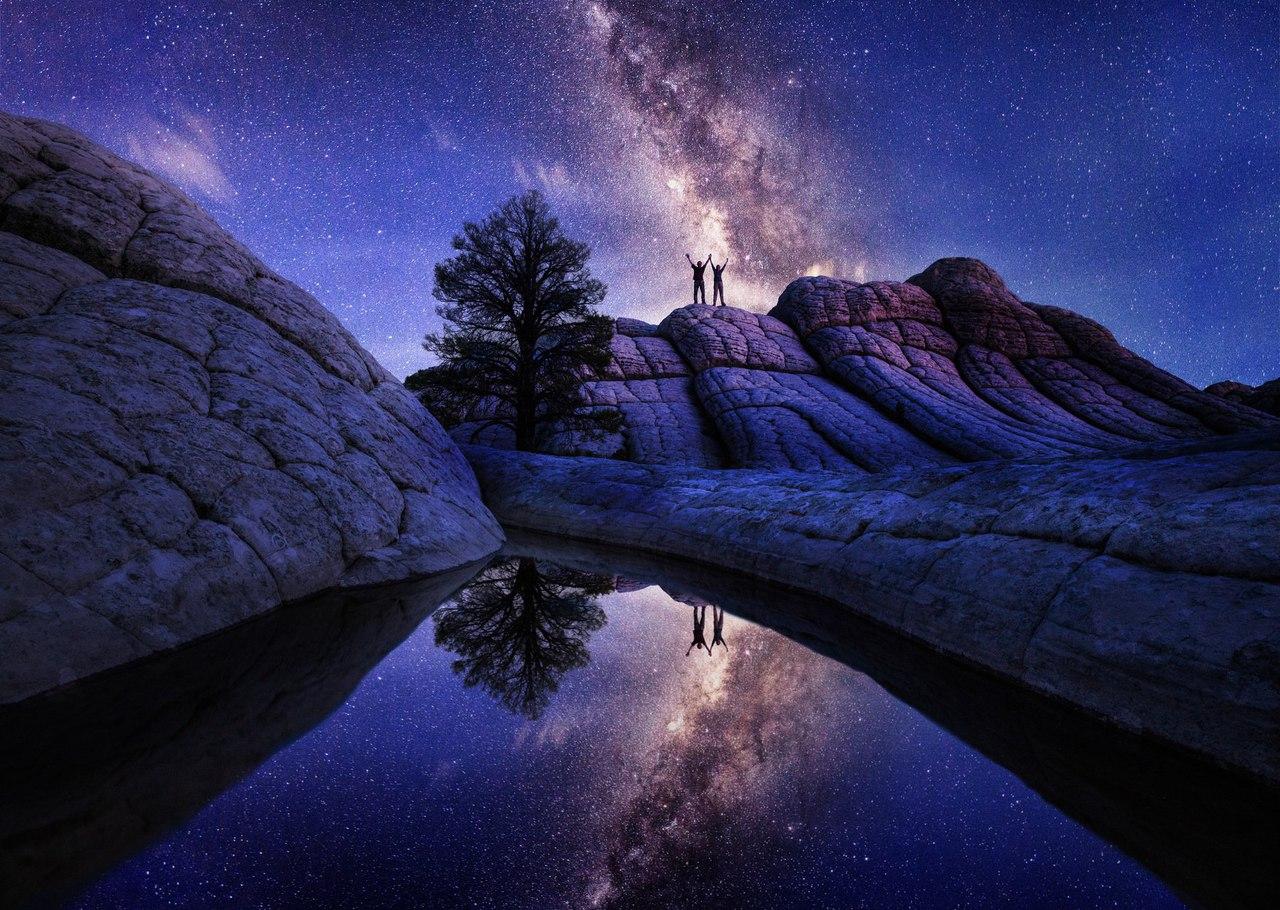 необычные ночные фото небольшую серию фотографии