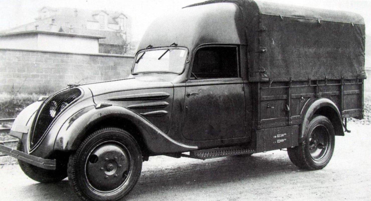 Неизвестные французские авто во времена Второй мировой Автомобили
