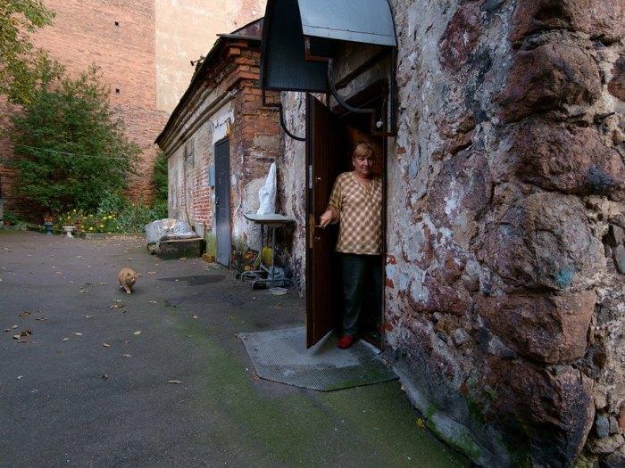 В доме есть жильцы. /Фото: Виктор Юльев, the-village.ru