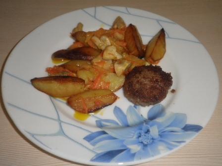 Гарнир белорусский. Простые блюда