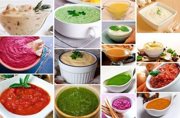 Таки, соусы простые для всего