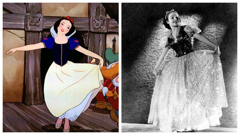 Прототипы прекрасных героинь Disney