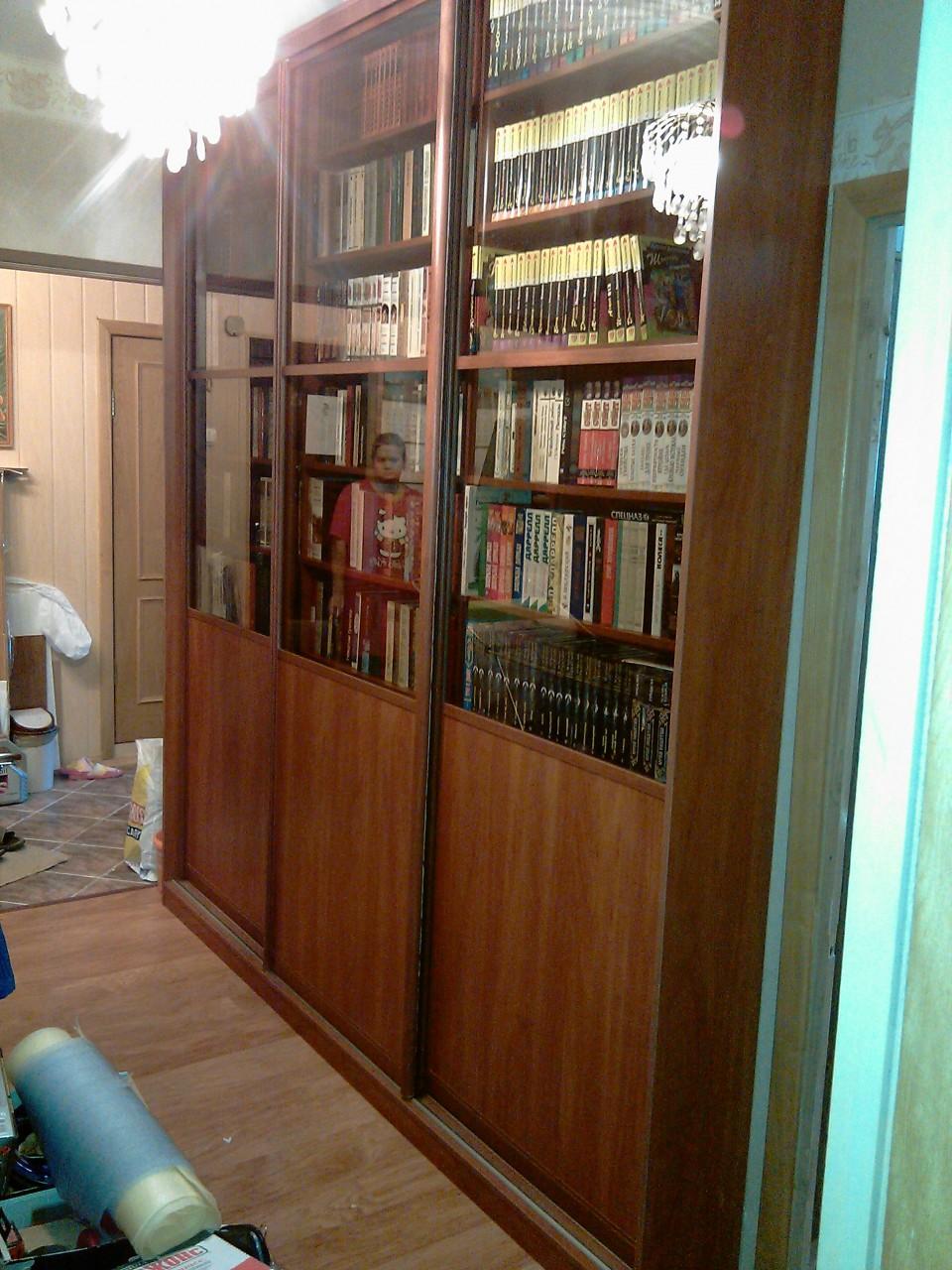 Шкаф под библиотеку квартира, дом, дача.