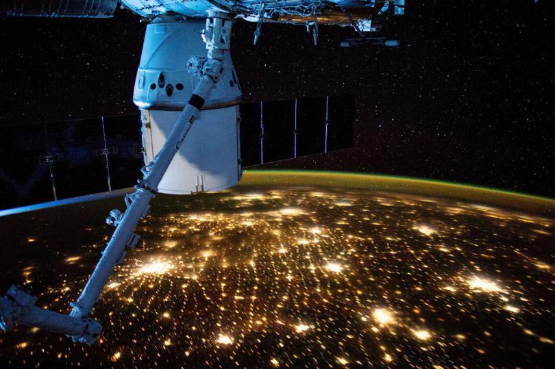 США (Миннеаполис, Чикаго), 10 мая 2019. (Фото NASA):
