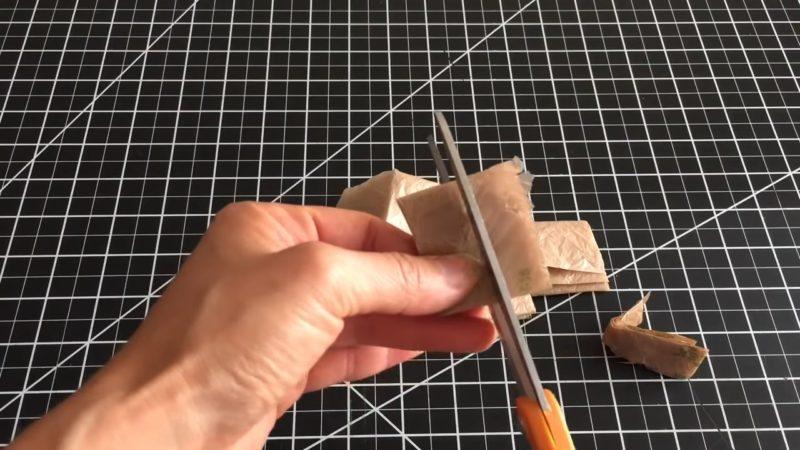 Практичная продуктовая сумка, а из чего была связана — трудно догадаться вязание