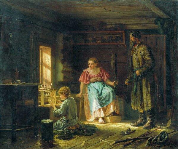 Мальчик-механик. 1871. Национальный художественный музей Республики Беларусь