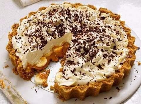 """Banoffee pie"" - настоящее банановое блаженство!"