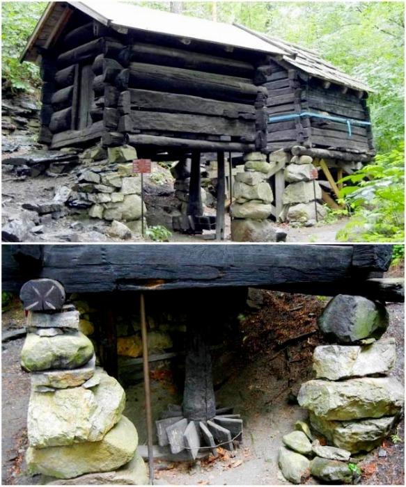 Древняя норвежская водяная мельница. | Фото: dom.ukr.bio.