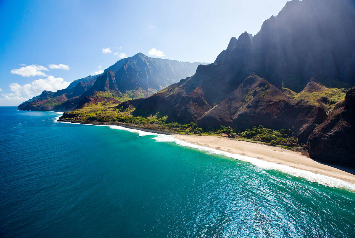 остров кауаи гавайи фото стильный