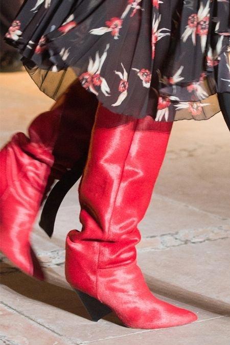 Модные сапоги Isabel Marant для осени и зимы 2017-2018