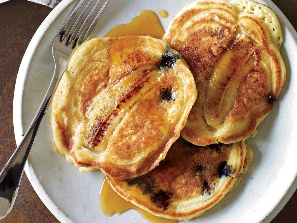 Блинчики из банана и яйца: рецепты приготовления