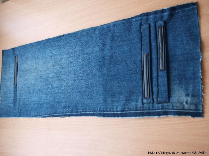 Вторая жизнь старых джинсов с пользой для дома: сумка своими руками