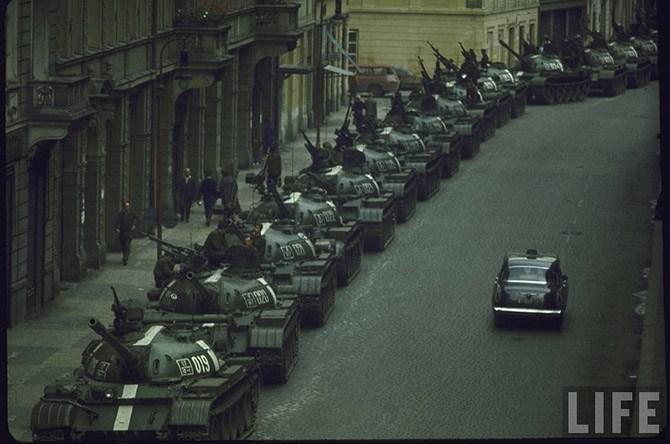 Взгляд на вторжение в Чехословакию 45 лет спустя