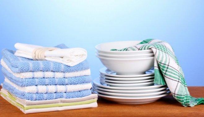 Как спасти ваши кухонные полотенца