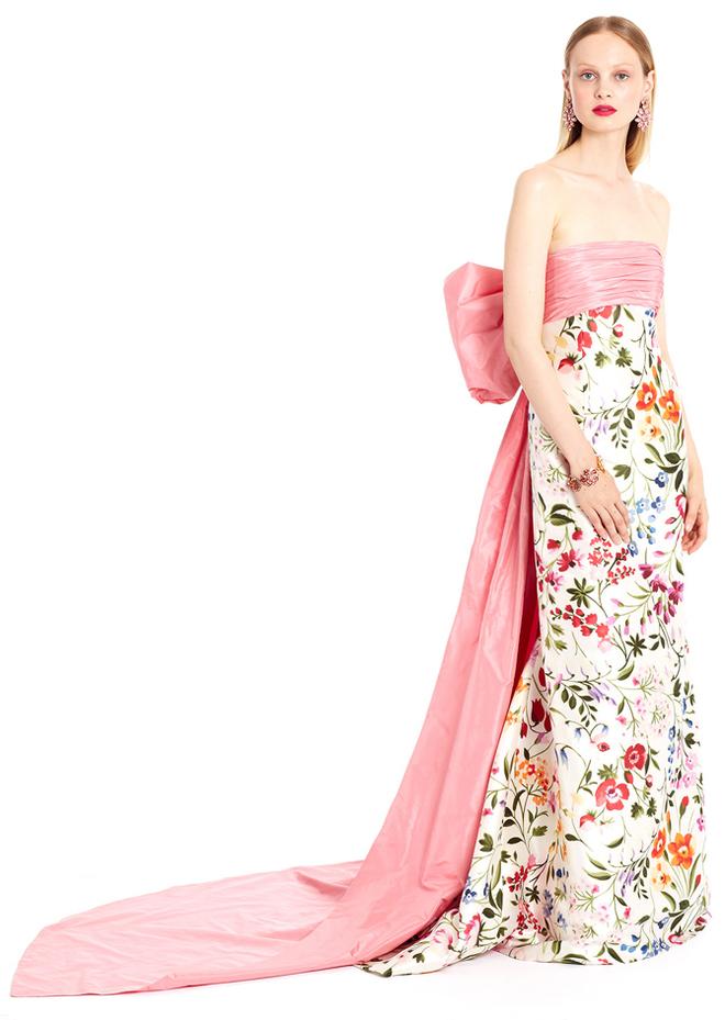 Круизная коллекция Oscar de la Renta: платья для современных принцесс