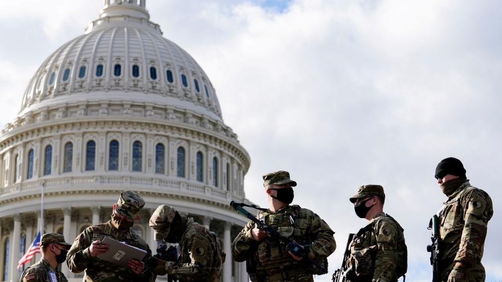 В Вашингтон ввели больше американских военных, чем находятся в Афганистане и Ираке