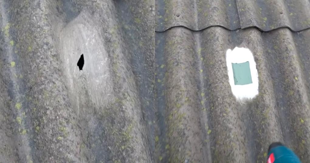 Простейший способ залатать крышу. Сможет каждый