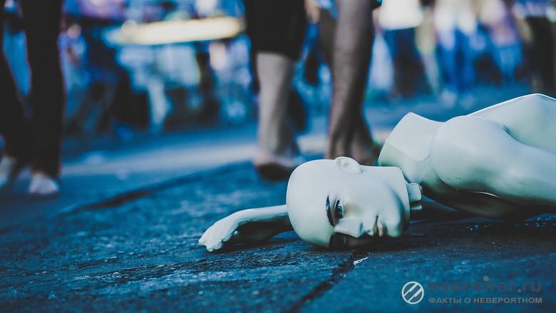 Статуи, манекены и куклы иногда оживают
