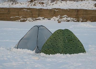 Какой должна быть зимняя палатка для рыбалки