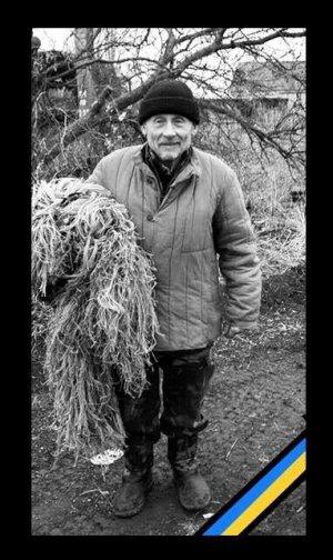 Старейший украинский снайпер…