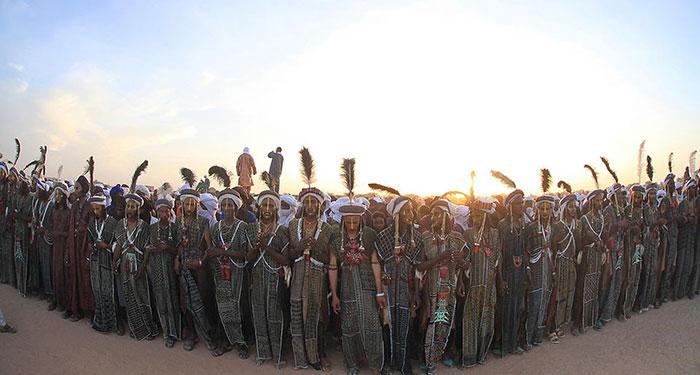 Конкурс красоты: африканский вариант Африка,афринаские племена,водабе,конкурс красоты,Нигер